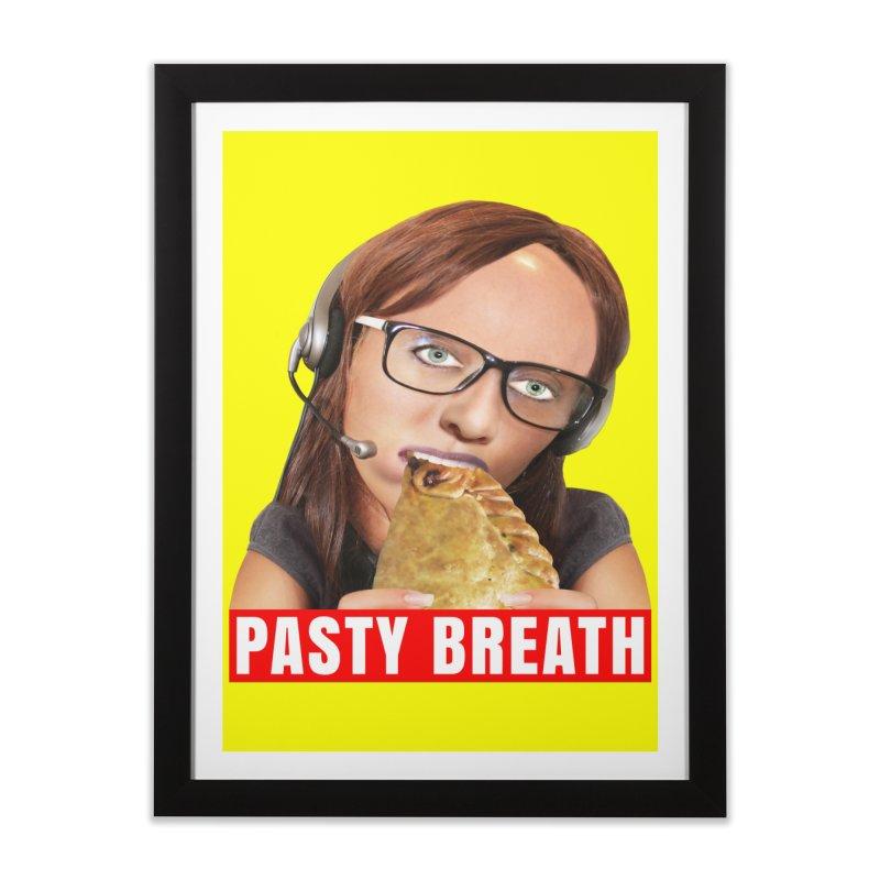 Pasty Breath Home Framed Fine Art Print by The Rake & Herald Online Clag Emporium