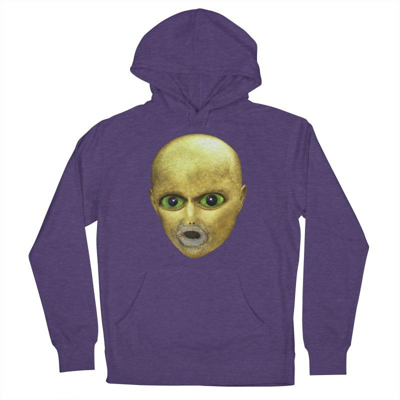 Alien Head Men's Pullover Hoody by The Rake & Herald Online Clag Emporium