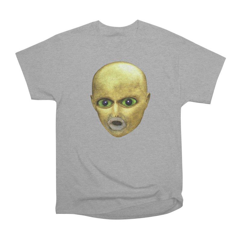 Alien Head Men's Classic T-Shirt by The Rake & Herald Online Clag Emporium