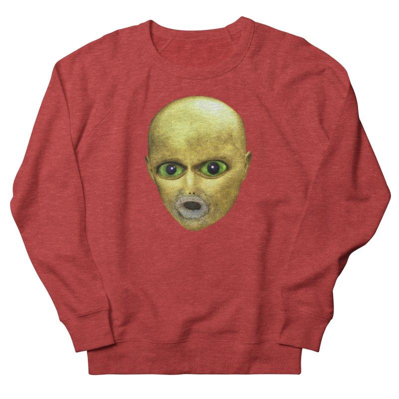 Alien Head Women's Sweatshirt by The Rake & Herald Online Clag Emporium