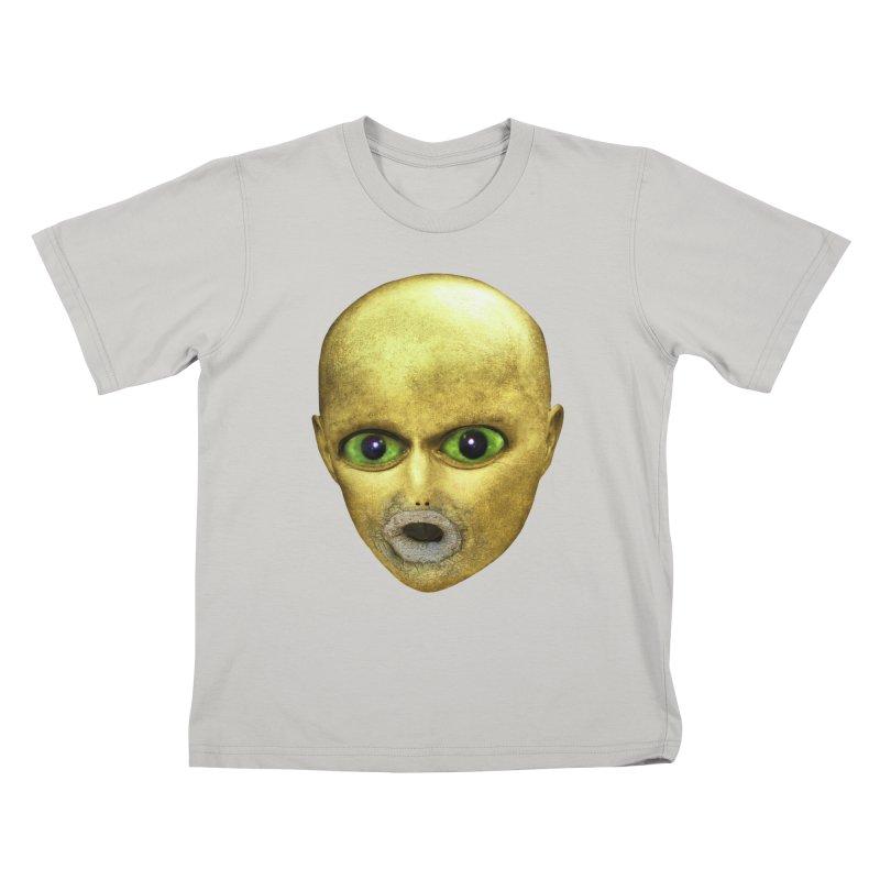 Alien Head Kids T-shirt by The Rake & Herald Online Clag Emporium