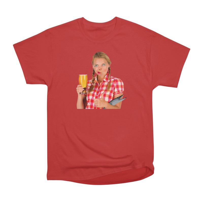 Gabrielle Fish-Pint Men's Classic T-Shirt by The Rake & Herald Online Clag Emporium