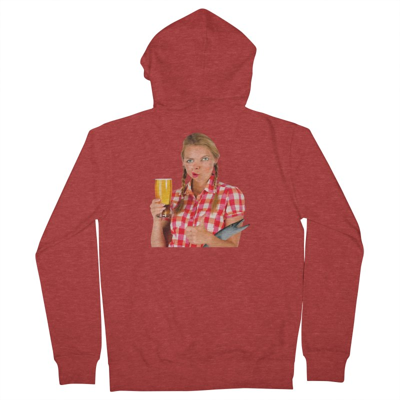 Gabrielle Fish-Pint Men's Zip-Up Hoody by The Rake & Herald Online Clag Emporium