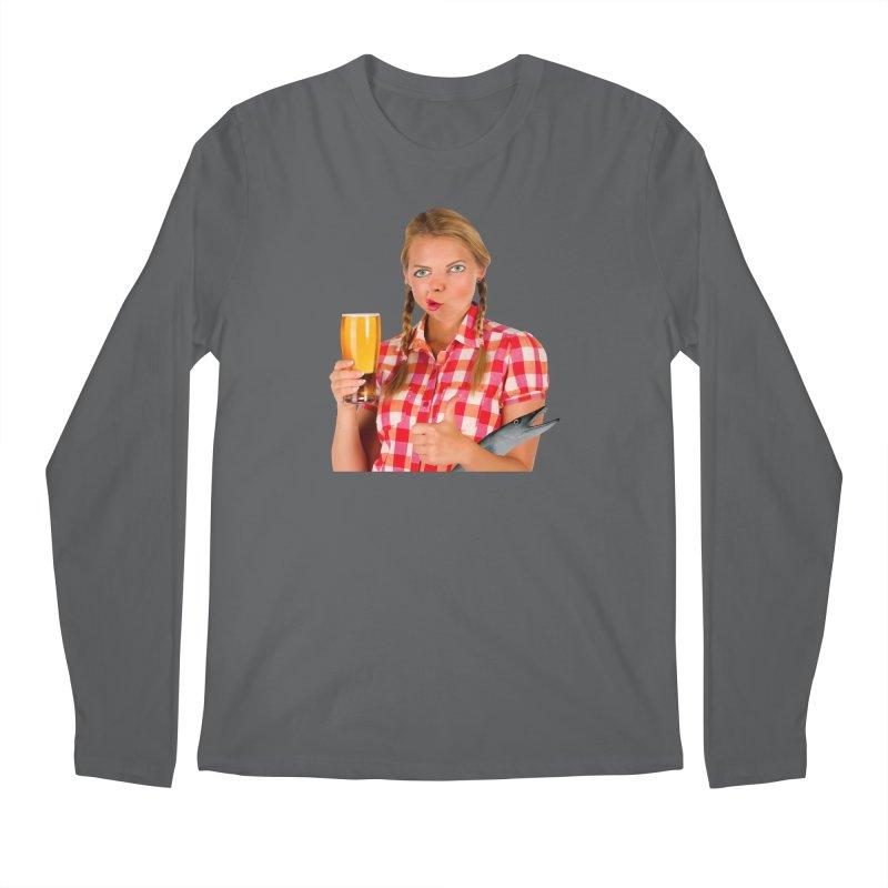 Gabrielle Fish-Pint Men's Longsleeve T-Shirt by The Rake & Herald Online Clag Emporium