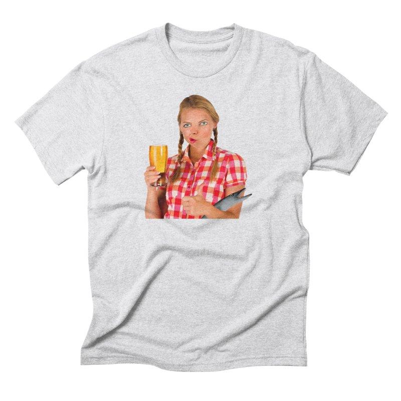 Gabrielle Fish-Pint Men's Triblend T-shirt by The Rake & Herald Online Clag Emporium