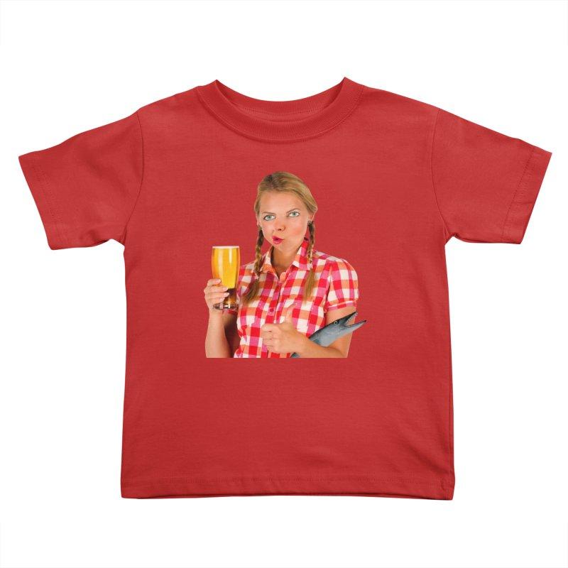 Gabrielle Fish-Pint Kids Toddler T-Shirt by The Rake & Herald Online Clag Emporium