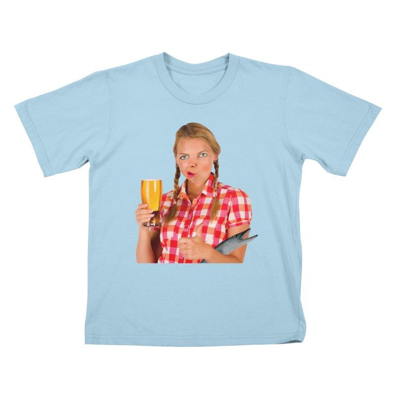 Gabrielle Fish-Pint Kids T-shirt by The Rake & Herald Online Clag Emporium