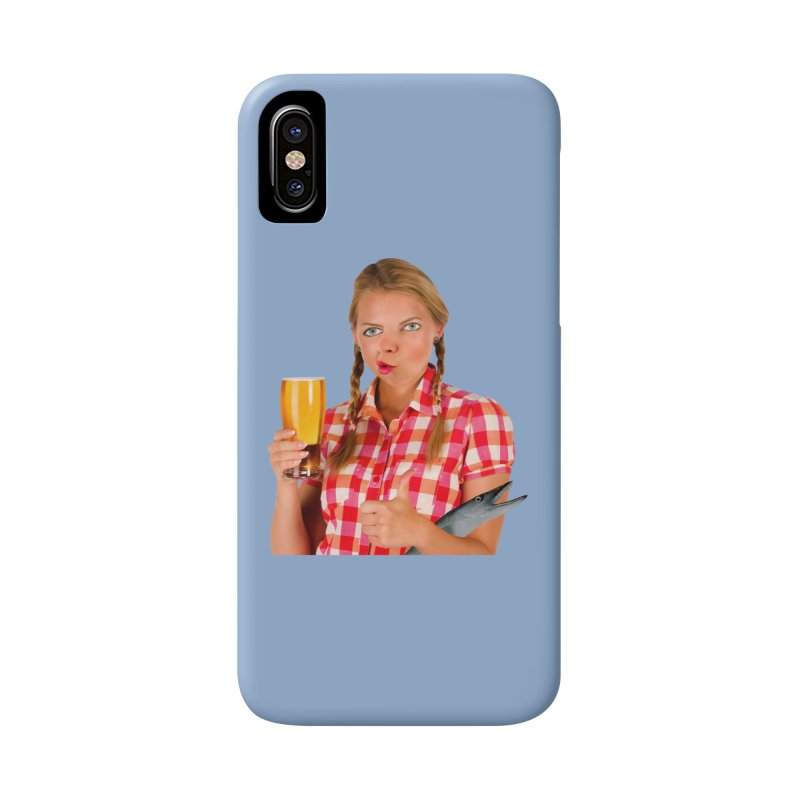 Gabrielle Fish-Pint Accessories Phone Case by The Rake & Herald Online Clag Emporium
