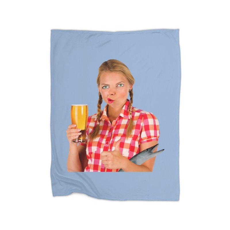 Gabrielle Fish-Pint Home Blanket by The Rake & Herald Online Clag Emporium