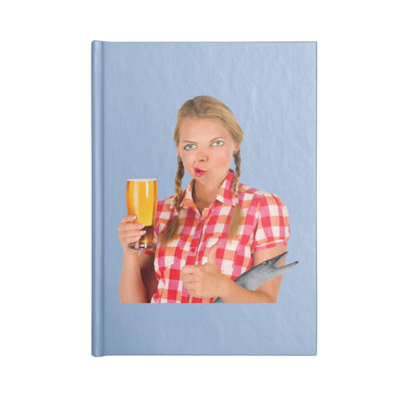 Gabrielle Fish-Pint Accessories Notebook by The Rake & Herald Online Clag Emporium