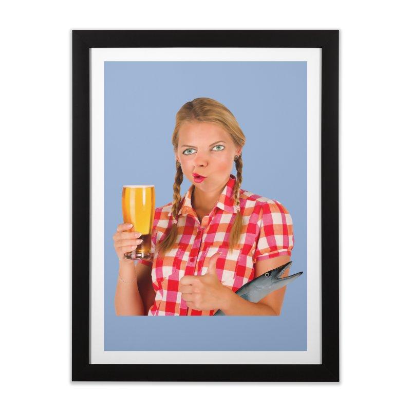 Gabrielle Fish-Pint Home Framed Fine Art Print by The Rake & Herald Online Clag Emporium