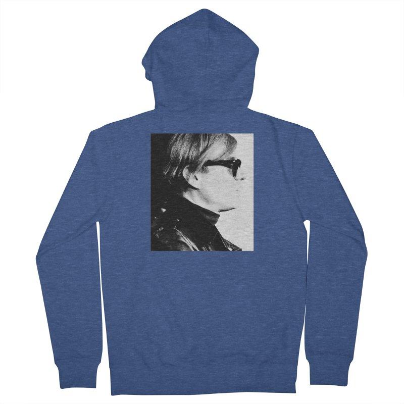 Hero of the Rake & Herald Andy Warhol Women's Zip-Up Hoody by The Rake & Herald Online Clag Emporium