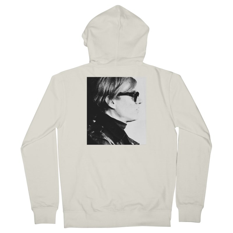 Hero of the Rake & Herald Andy Warhol Men's Zip-Up Hoody by The Rake & Herald Online Clag Emporium