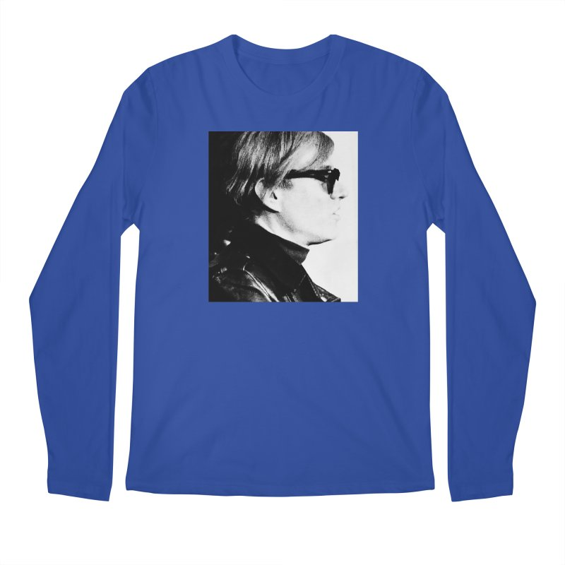 Hero of the Rake & Herald Andy Warhol Men's Longsleeve T-Shirt by The Rake & Herald Online Clag Emporium