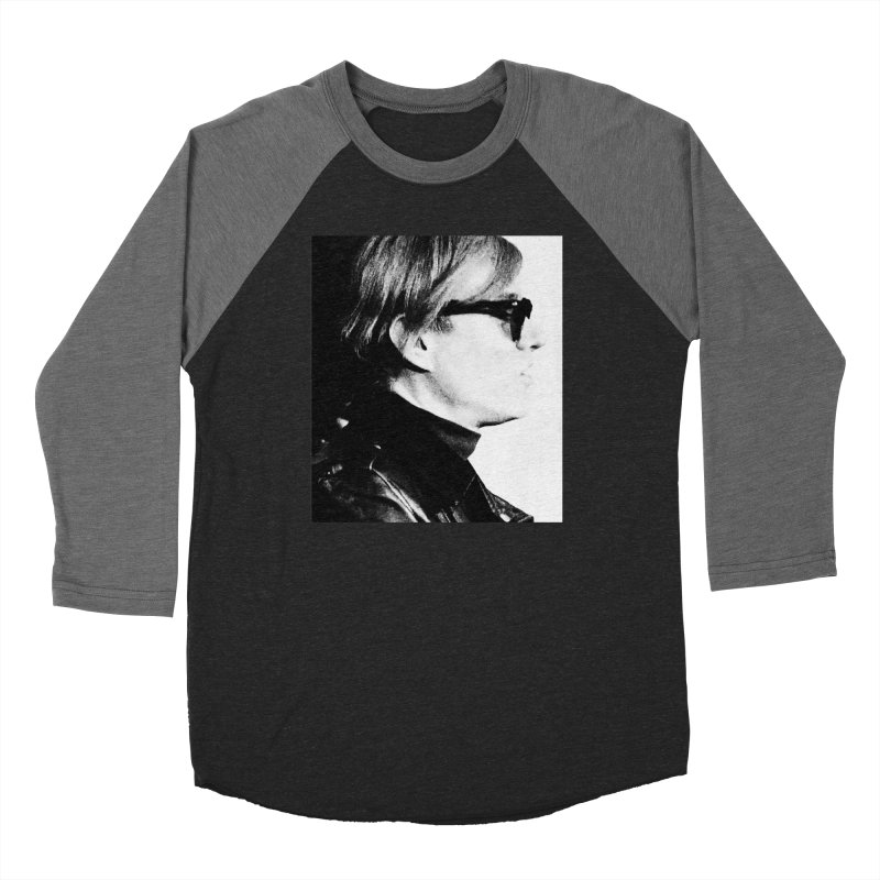Hero of the Rake & Herald Andy Warhol Women's Baseball Triblend Longsleeve T-Shirt by The Rake & Herald Online Clag Emporium
