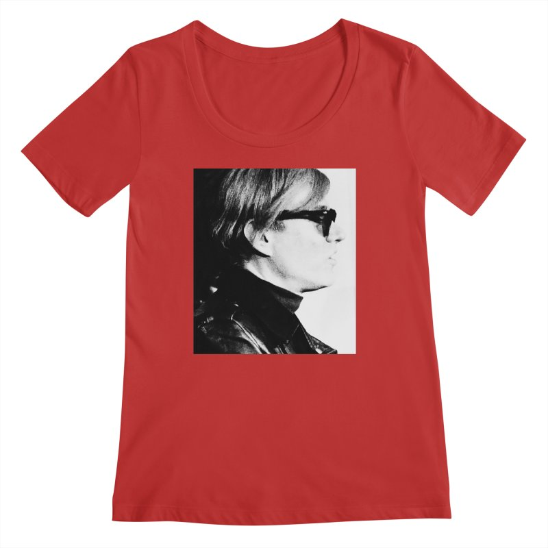Hero of the Rake & Herald Andy Warhol Women's Regular Scoop Neck by The Rake & Herald Online Clag Emporium