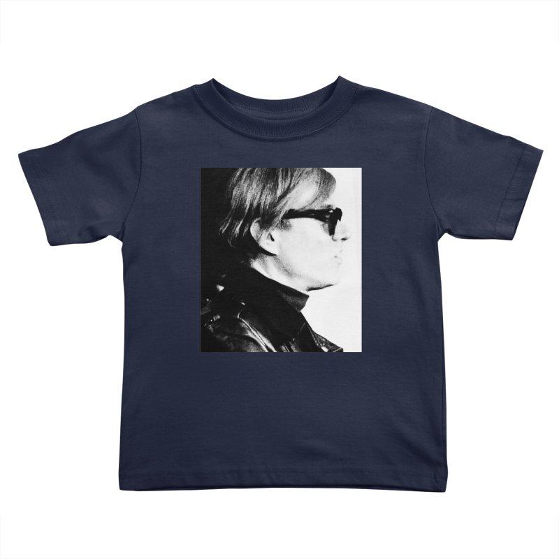 Hero of the Rake & Herald Andy Warhol Kids Toddler T-Shirt by The Rake & Herald Online Clag Emporium