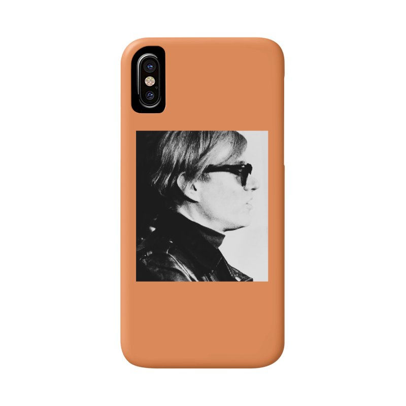Hero of the Rake & Herald Andy Warhol Accessories Phone Case by The Rake & Herald Online Clag Emporium
