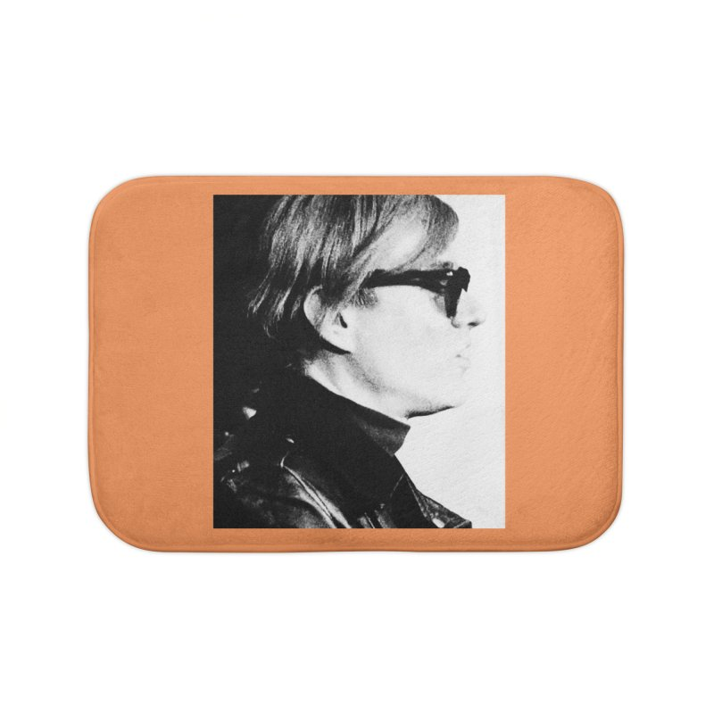 Hero of the Rake & Herald Andy Warhol Home Bath Mat by The Rake & Herald Online Clag Emporium