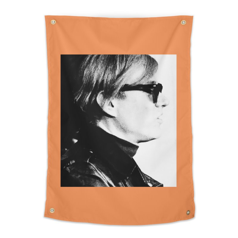 Hero of the Rake & Herald Andy Warhol Home Tapestry by The Rake & Herald Online Clag Emporium