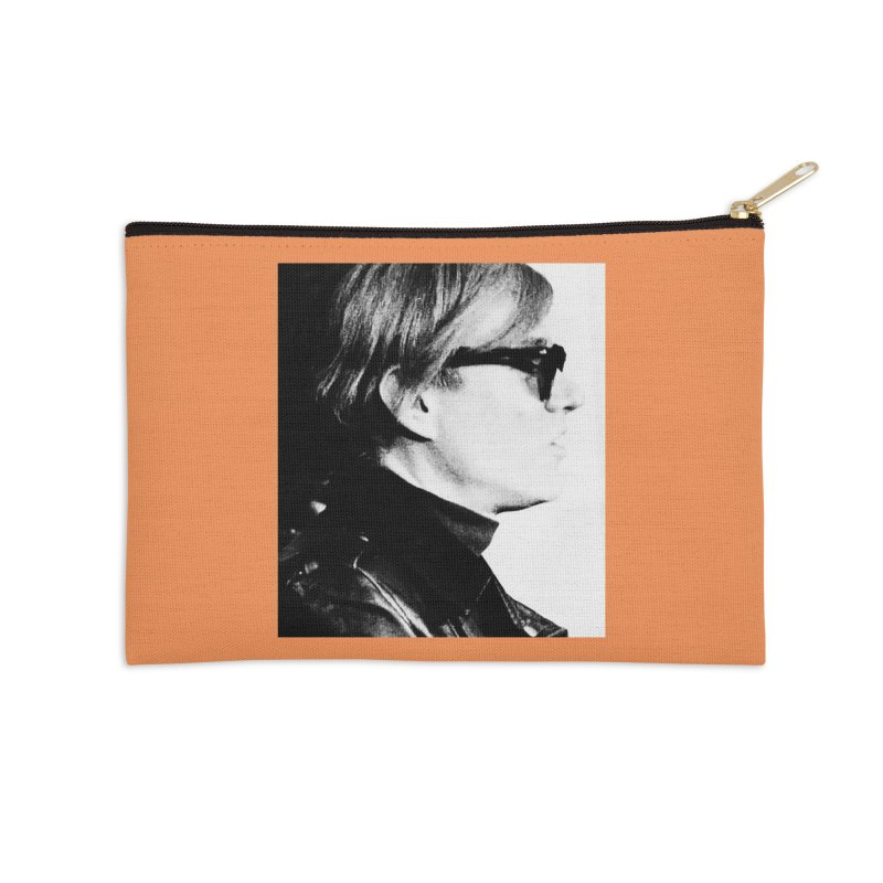 Hero of the Rake & Herald Andy Warhol Accessories Zip Pouch by The Rake & Herald Online Clag Emporium