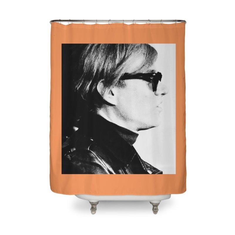 Hero of the Rake & Herald Andy Warhol Home Shower Curtain by The Rake & Herald Online Clag Emporium