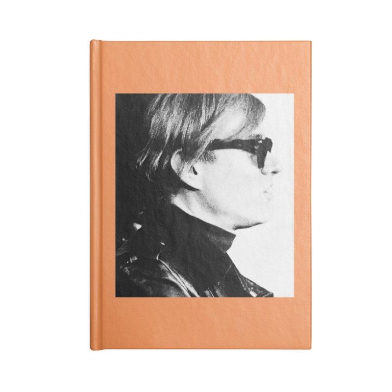 Hero of the Rake & Herald Andy Warhol Accessories Notebook by The Rake & Herald Online Clag Emporium