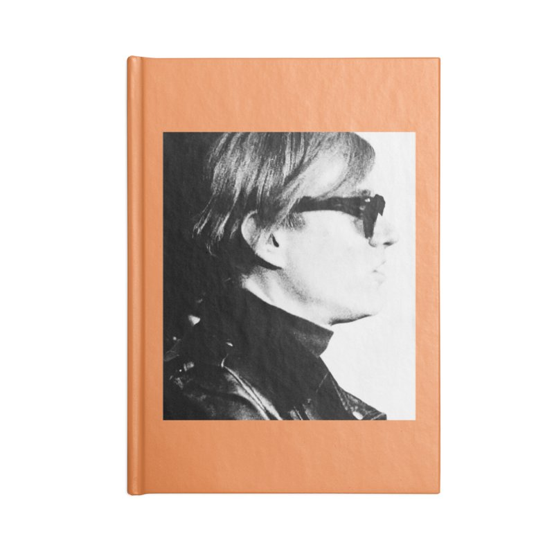 Hero of the Rake & Herald Andy Warhol Accessories Blank Journal Notebook by The Rake & Herald Online Clag Emporium