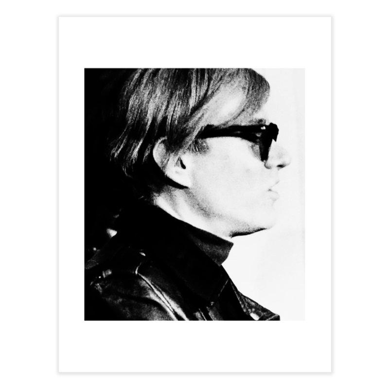 Hero of the Rake & Herald Andy Warhol Home Fine Art Print by The Rake & Herald Online Clag Emporium