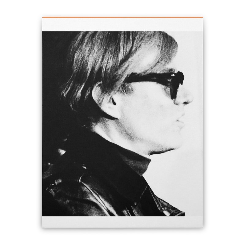 Hero of the Rake & Herald Andy Warhol Home Stretched Canvas by The Rake & Herald Online Clag Emporium
