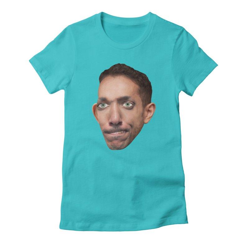 SasquickPoonDog775 Women's Fitted T-Shirt by The Rake & Herald Online Clag Emporium