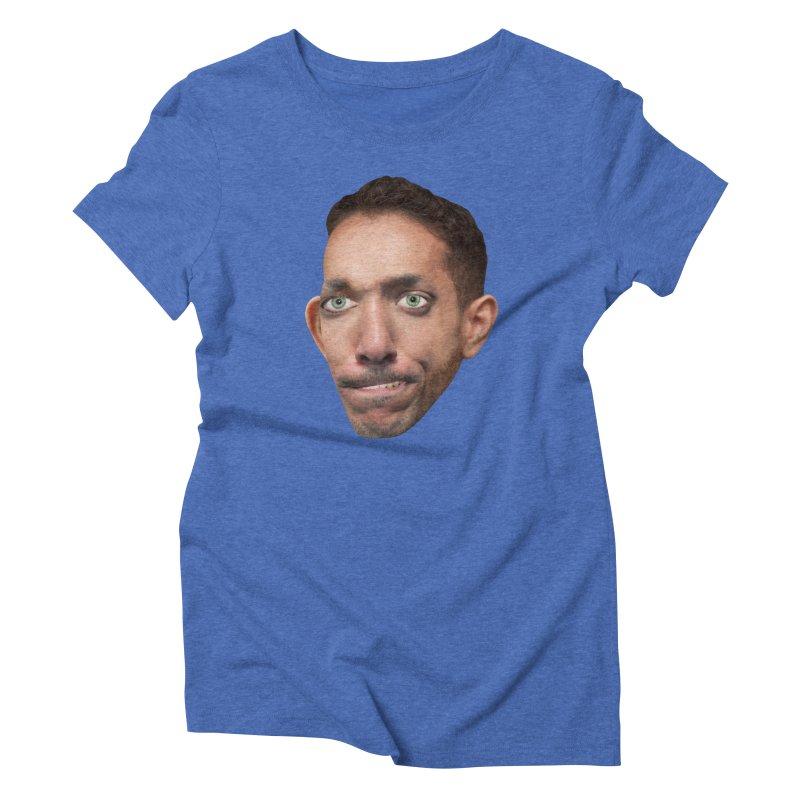 SasquickPoonDog775 Women's Triblend T-shirt by The Rake & Herald Online Clag Emporium