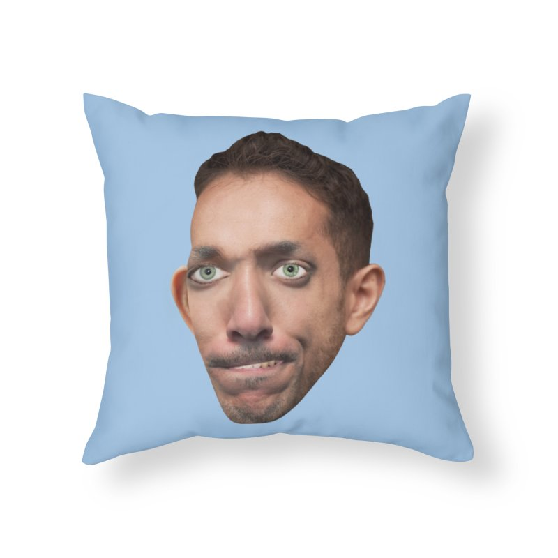 SasquickPoonDog775 Home Throw Pillow by The Rake & Herald Online Clag Emporium