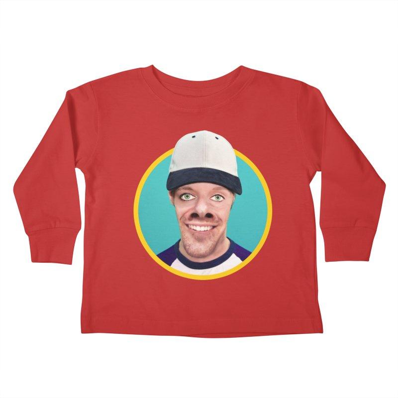 Steven Rearguard Kids Toddler Longsleeve T-Shirt by The Rake & Herald Online Clag Emporium