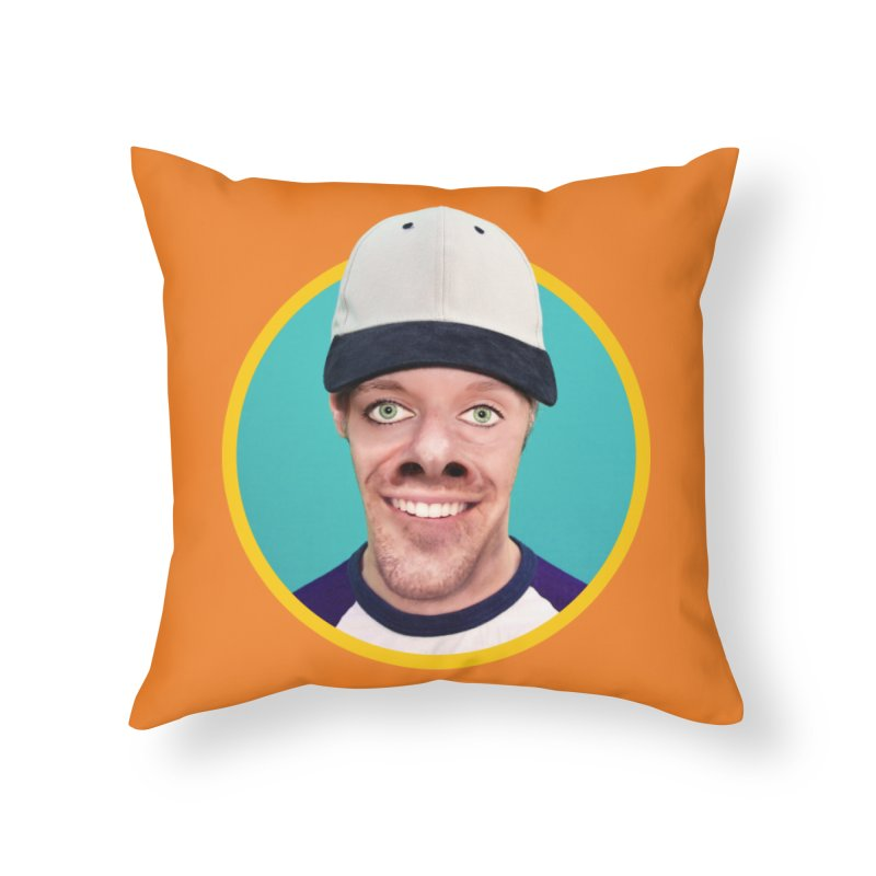 Steven Rearguard Home Throw Pillow by The Rake & Herald Online Clag Emporium