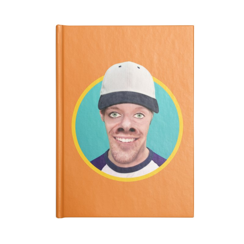 Steven Rearguard Accessories Blank Journal Notebook by The Rake & Herald Online Clag Emporium