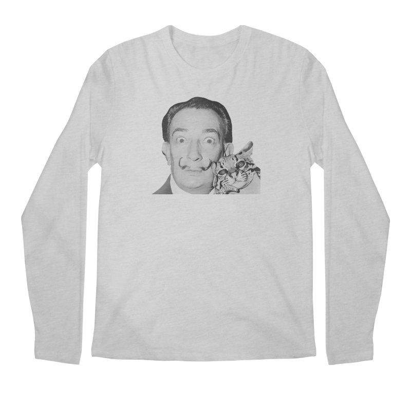 Hero of the Rake & Herald Salvador Dali (and Ocelot) Men's Longsleeve T-Shirt by The Rake & Herald Online Clag Emporium