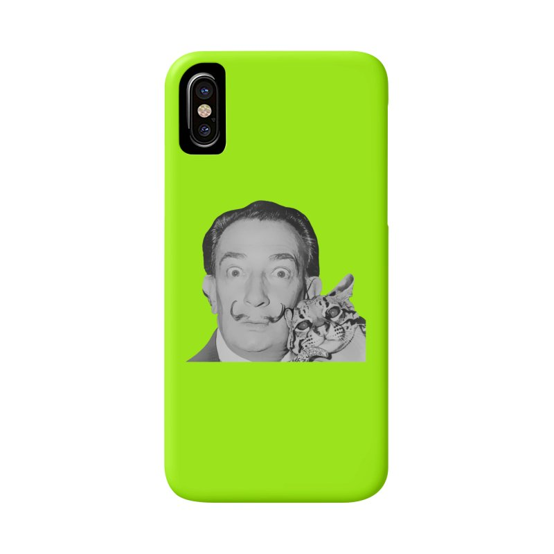 Hero of the Rake & Herald Salvador Dali (and Ocelot) Accessories Phone Case by The Rake & Herald Online Clag Emporium