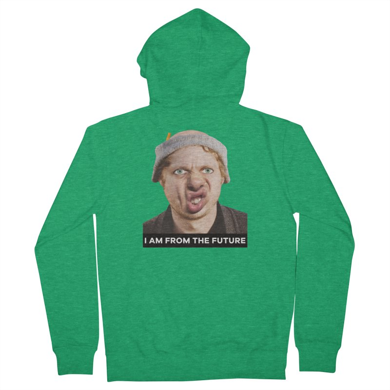 I Am From the Future Men's Zip-Up Hoody by The Rake & Herald Online Clag Emporium