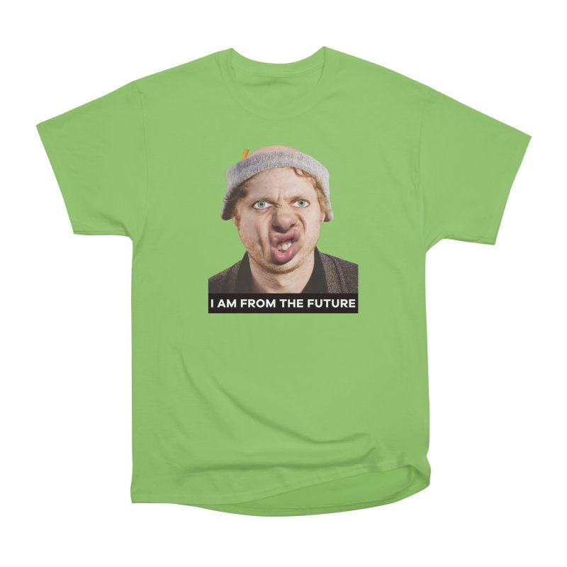 I Am From the Future Men's Heavyweight T-Shirt by The Rake & Herald Online Clag Emporium