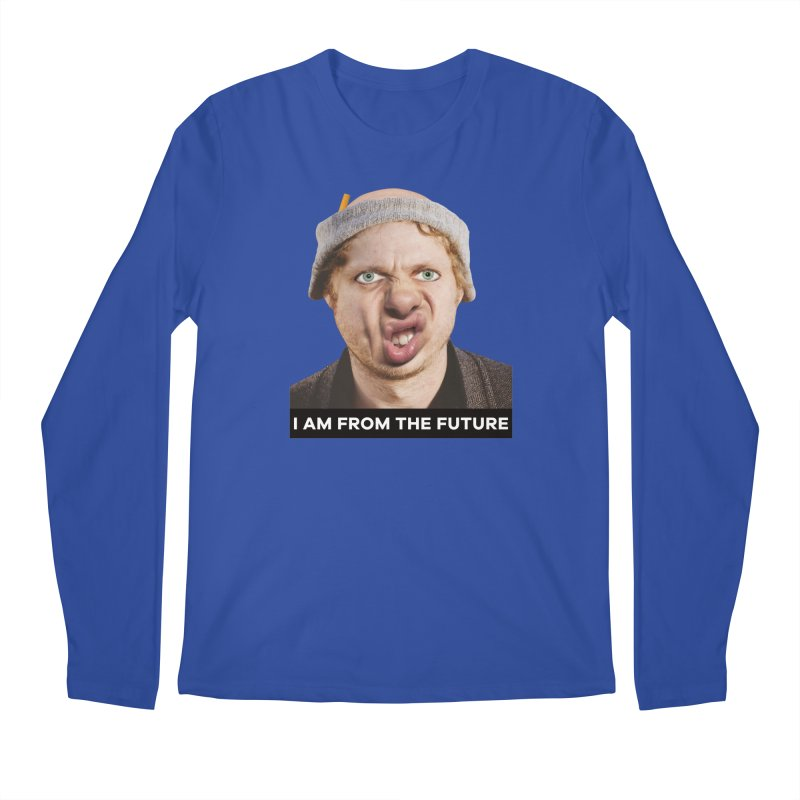 I Am From the Future Men's Regular Longsleeve T-Shirt by The Rake & Herald Online Clag Emporium
