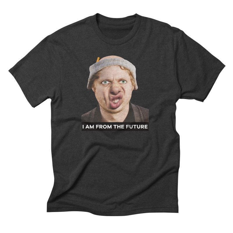 I Am From the Future Men's Triblend T-Shirt by The Rake & Herald Online Clag Emporium