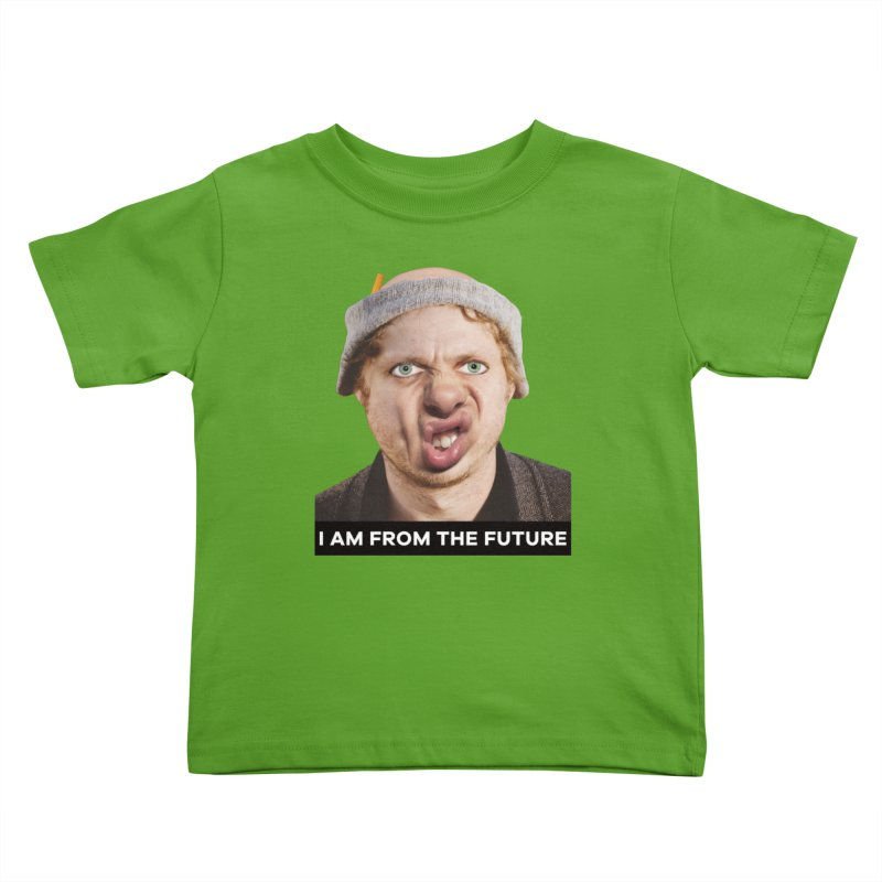 I Am From the Future Kids Toddler T-Shirt by The Rake & Herald Online Clag Emporium