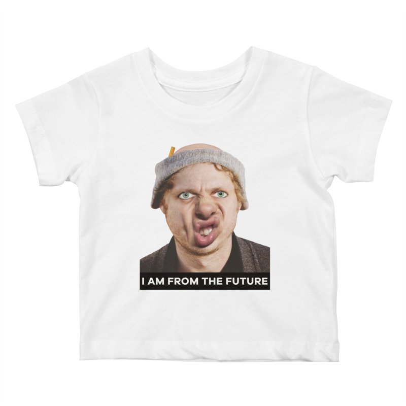 I Am From the Future Kids Baby T-Shirt by The Rake & Herald Online Clag Emporium