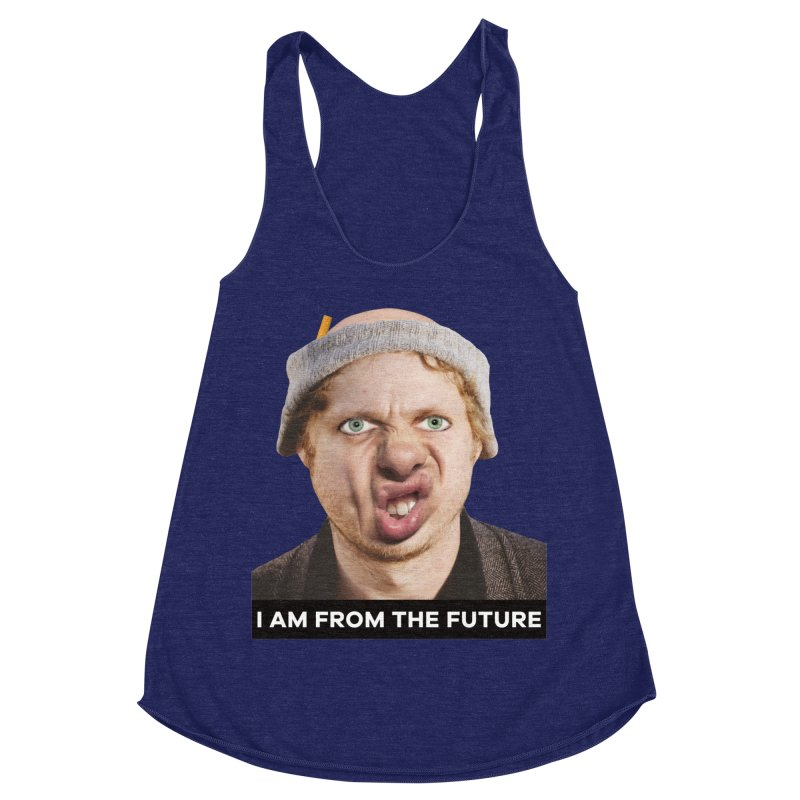 I Am From the Future Women's Racerback Triblend Tank by The Rake & Herald Online Clag Emporium