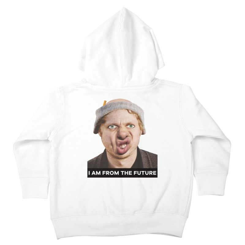 I Am From the Future Kids Toddler Zip-Up Hoody by The Rake & Herald Online Clag Emporium