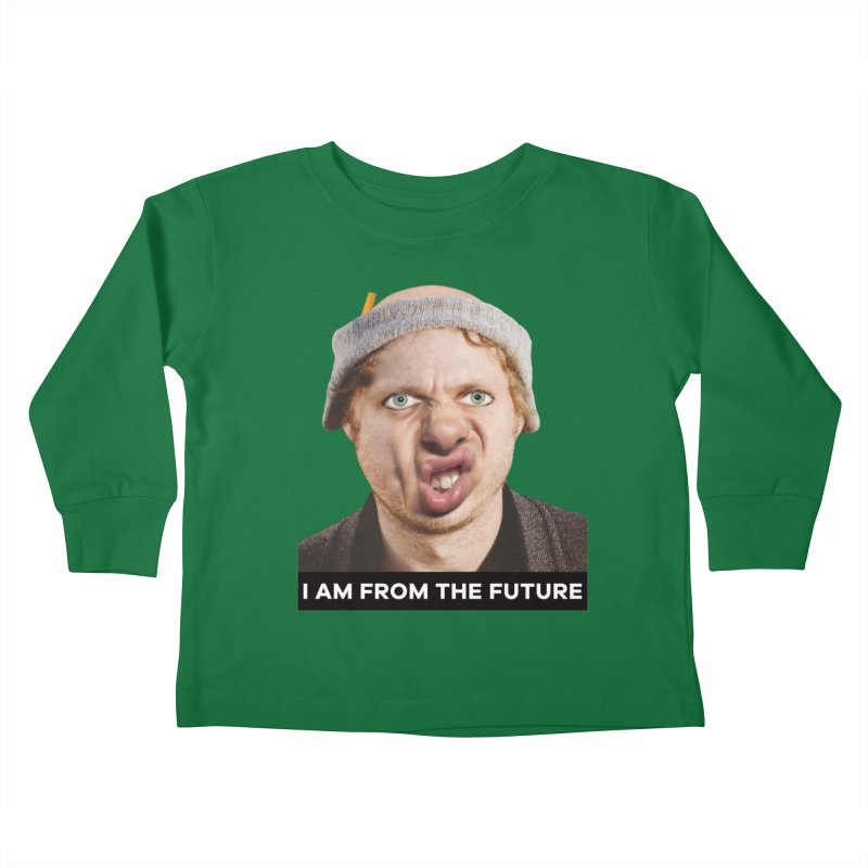 I Am From the Future Kids Toddler Longsleeve T-Shirt by The Rake & Herald Online Clag Emporium