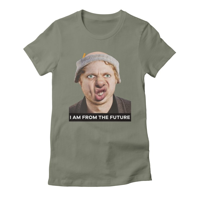 I Am From the Future Women's T-Shirt by The Rake & Herald Online Clag Emporium