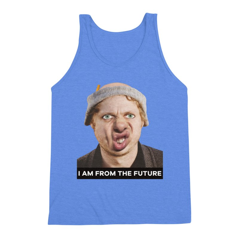 I Am From the Future Men's Triblend Tank by The Rake & Herald Online Clag Emporium