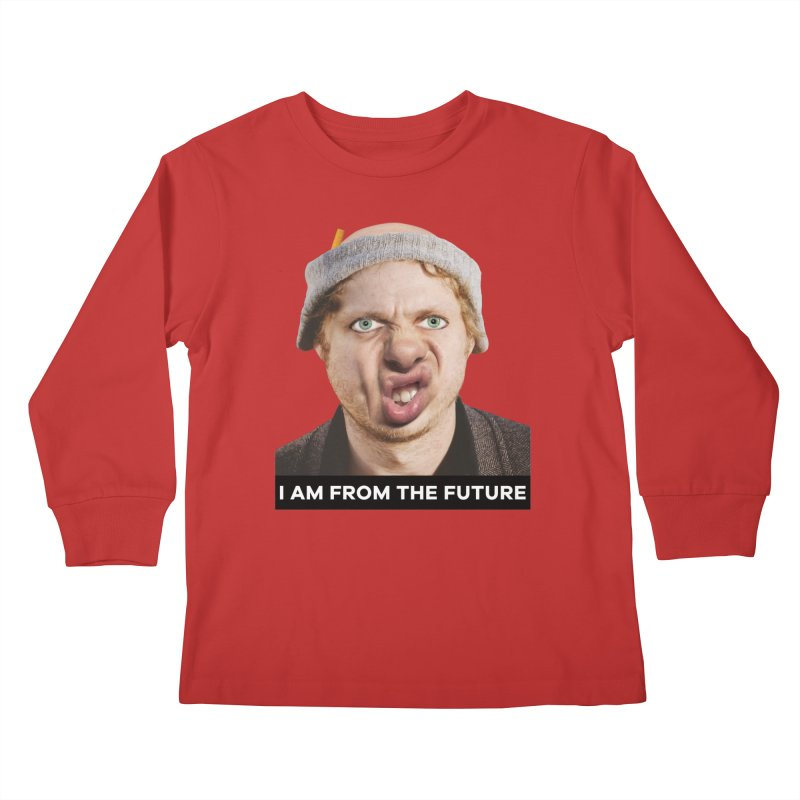 I Am From the Future Kids Longsleeve T-Shirt by The Rake & Herald Online Clag Emporium